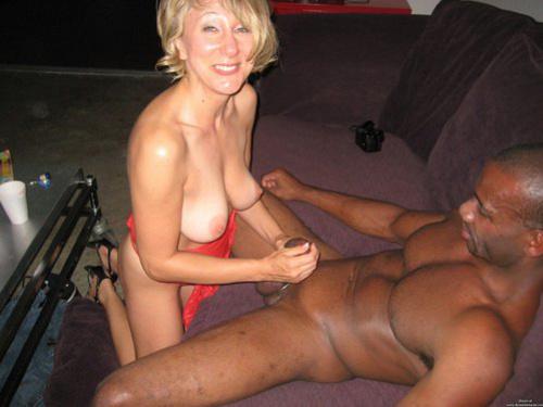 Old Black Man White Girl