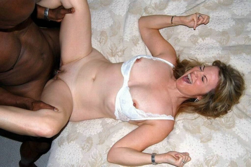 White wife having sex with black man