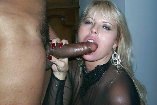 Husband Sucks Black Cock